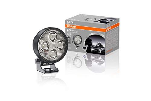 OSRAM LEDriving ROUND VX80-WD, luz de conducción LED para iluminación de campo cercano, wide, 1150 lúmenes, haz de luz de hasta 240 m, faros LED redondo, foco LED 12V/24V, homologación ECE