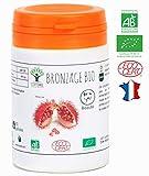 Bronzage bio   60 gélules   Complément alimentaire   Autobronzant naturel Teint hâlé Préparation au soleil Peau UV Urucum   Bioptimal - nutrition naturelle   Fabriqué en France   Certifié par Ecocert
