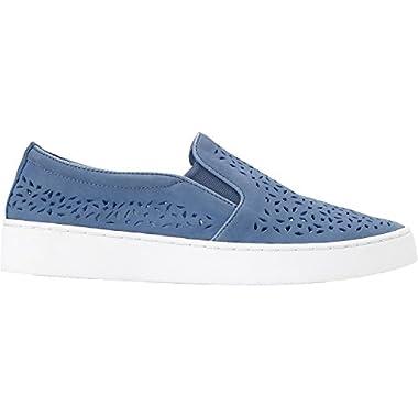 Vionic Women's Midi Perf Slip-on Sneaker Light Blue 8 M