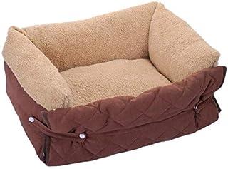 Multifunctional Clamshell Dog Sofa Bed Soft Small Medium Dog Kennel Blanket Cat Dog Warm House Mat Pet