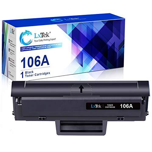 LxTek 106A Sostituzione Compatibile per HP 106A W1106A Cartucce di Toner per HP Laser 107a 107r 107w MFP 135a 135r 135w 135wg 137fnw 137fwg (1-Nero, con Chip)