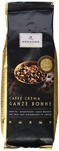 Niederegger 850120 Espresso Lübeck Caffè Crema Ganze Bohne, 12er Pack (12x 250 g)