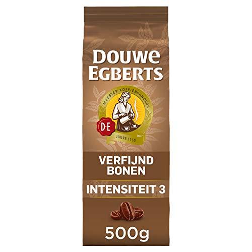 Douwe Egberts Koffiebonen Verfijnd (2 Kilogram, Intensiteit 03/09, Light Roast Koffie, 100% Arabica Koffie), 4 x 500…