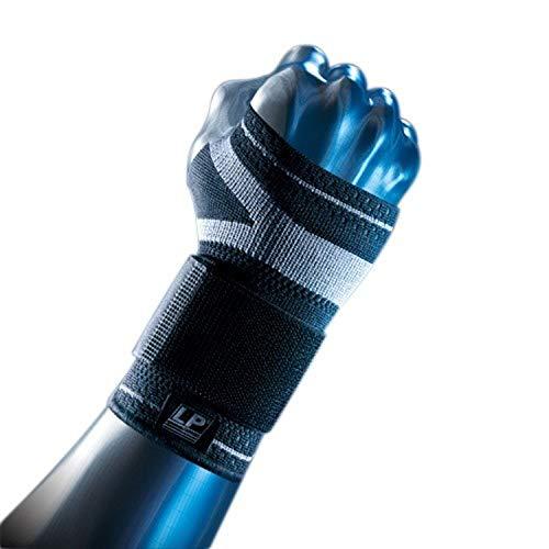 LP Support X-TREMUS 130XT Kompressions Handgelenkbandage - Handgelenk-Stütze, Größe:XL, Farbe:schwarz
