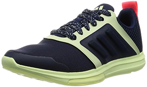 Adidas Damen Yvori 'Stellasport' Hohe Sneaker Blau (Blue/White/Red Blue/White/Red) , 40 2/3 EU