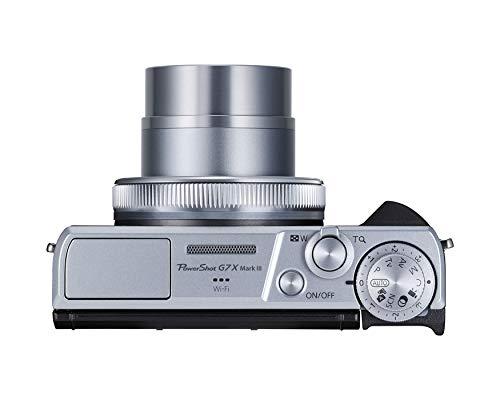 Canon PowerShot Vlogging Camera [G7X Mark III] 4K Video Streaming Camera, Vertical 4K...