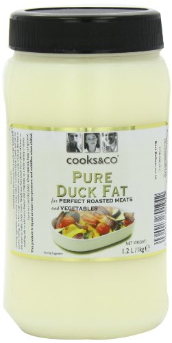 Cooks & Co Duck Fat - Pack Size = 2x1kg