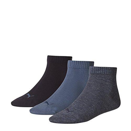 Puma - 251015 - Chaussettes de sport - Lot de 3 - Homme - Bleu (Denim Blue) - 39/42