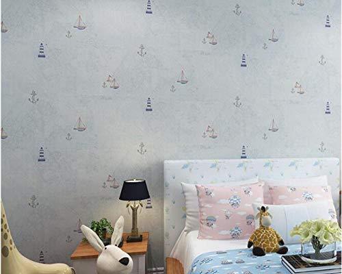 Flwhdzw Hohe Qualität 0,53 M * 10 M Moderne 3D-Tapetenrolle Wandbild Britische Mode 3D-Tapetenwandbild 3 Farbe-400X280Cm
