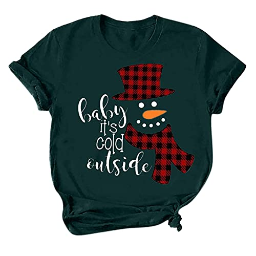 Christmas Plus Black Long Sleeve top Light Weight Cloth Cute Printed Shirts Button Down Shirt lace Casual Colorblock Open Front Sweater Cardigan Dressy Tunic Shirt Women's Short Sleeve Tops