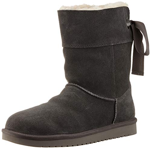 Koolaburra by UGG Women's Andrah Short Classic Boot, Stone Grey, 36 EU