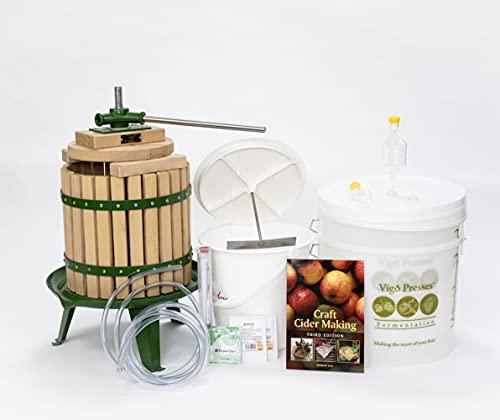 Vigo Presses Apple Press Starter Kit – 12 Litre Fruit Press and Everything Else You Need to Start...
