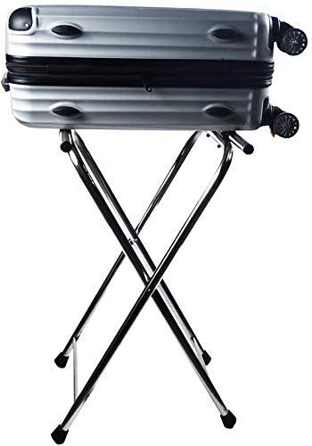 GDFEH Soportes para maletas Soporte de Equipaje Pasadora de equipaje plegable de...