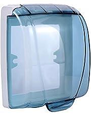 Onsinic 1 st Waterdichte Plastic Muur Schakelaar Cover Box 86 Type Wandlamp Panel Socket Deurbel Flip Cap Clear Cover