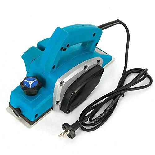 Futchoy - Cepillo eléctrico con cable profesional (11000 rpm, 800 W, cepilladora...