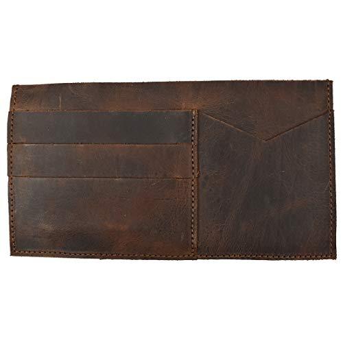 Hide & Drink, Leather Insert Wallet, Cash Holder, Card Organizer, Travel Accessories, Handmade :: Bourbon Brown