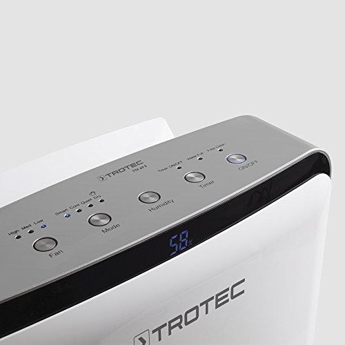 TROTEC TTK 69 E Dehumidifier, Air Dehumidifier, Portable Dehumidifier, Mobile Dehumidifier (max. Capacity 20l/24h, for Room max. 45m²)