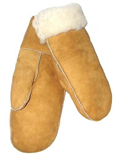 SAWA Kinder Handschuhe aus Lammfell beige