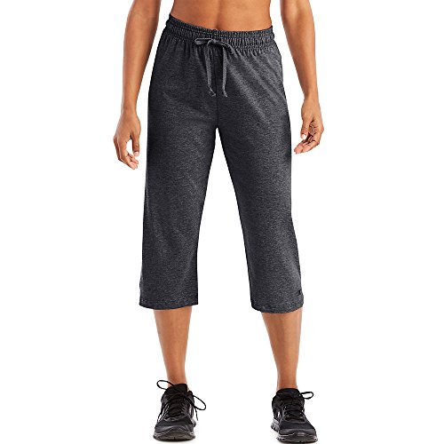 Champion Authentic Women's Jersey Capri_Granite Heather_XX-Large