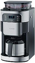 SEVERIN KA 4812 Kaffeeautomat mit Mahlwerk und Thermokanne (Für Kaffeebohnen und Filterkaffee, Timerfunktion, Automatische Abschaltung, bis zu 8 Tassen) edelstahl/schwarz©Amazon