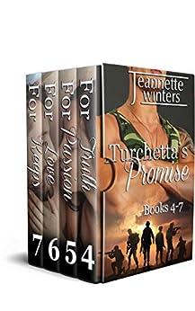 Turchetta's Promise Collection: Books 4-7 (Turchetta's Collection Book 2) by [Jeannette Winters]