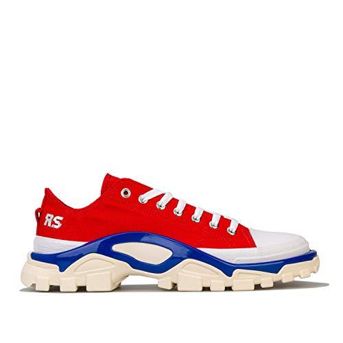 Adidas Originals RAF Simons Detroit - Scarpe da ginnastica da uomo, colore: Rosso e Blu, (Rosso e blu.), 42.5 EU