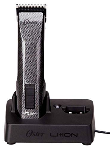 Oster CORDLESS Hair Clippers with Li+ION Battery and All NEW Fade Free Power and Dual Battery Charging Base