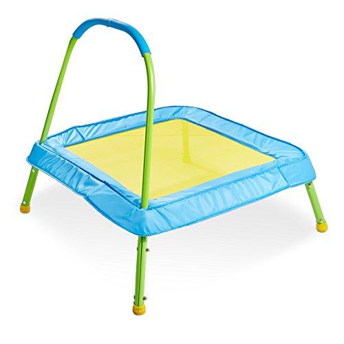 Kid Active Easy Assembly Childrens Junior Indoor Outdoor Trampoline