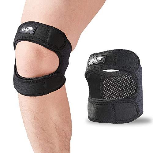 Patellasehnen-Stützband, Verstellbarer Neopren-Knieband zur Knie-Schmerzlinderung für Läuferknie, Arthritis, Springerknie, Heilung nach Tennis-Verletzungen