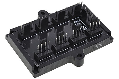 Phobya 81136Connector for Cooling Fan (Black)