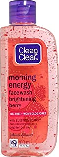 Clean & Clear Morning Energy - Brightening Berry Face Wash (100 ml)