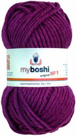 My Boshi Wool - 164 Blackberry Super Special SALE Inexpensive held
