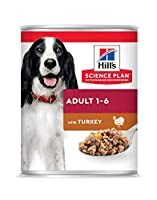 Hill's Science Plan Canine Advanced Fitness Adult Turkey Can 370g Foods - Dog - Wet Cans