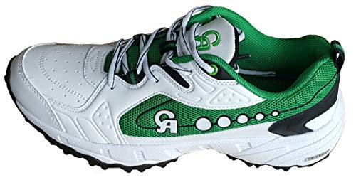 CA Sprint Green Cricket Shoes (EU-Size 44)