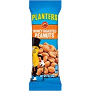 Planters Honey Roasted Peanuts Single Serve Packet (2 oz Packets, Pack of 144)