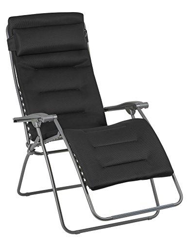 Lafuma stoel Air Comfort XL. 90x73x127 cm Acier (antraciet)