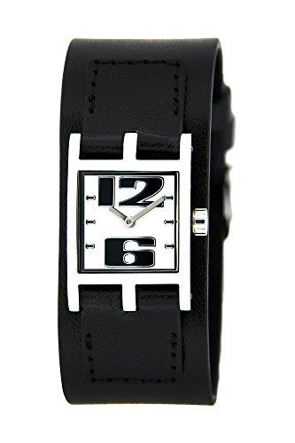 Bruno Banani Uhr für Frauen Lederband schwarz BR21065–