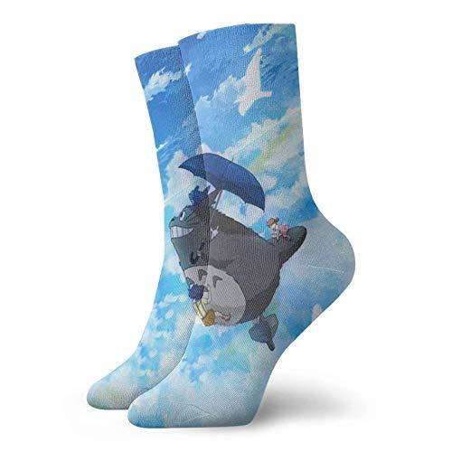 Anime Totoro Socken Herren Damen Wandern Walking Socken Jungen Mädchen Niedlich Komfort Atmungsaktiv Casual Sox