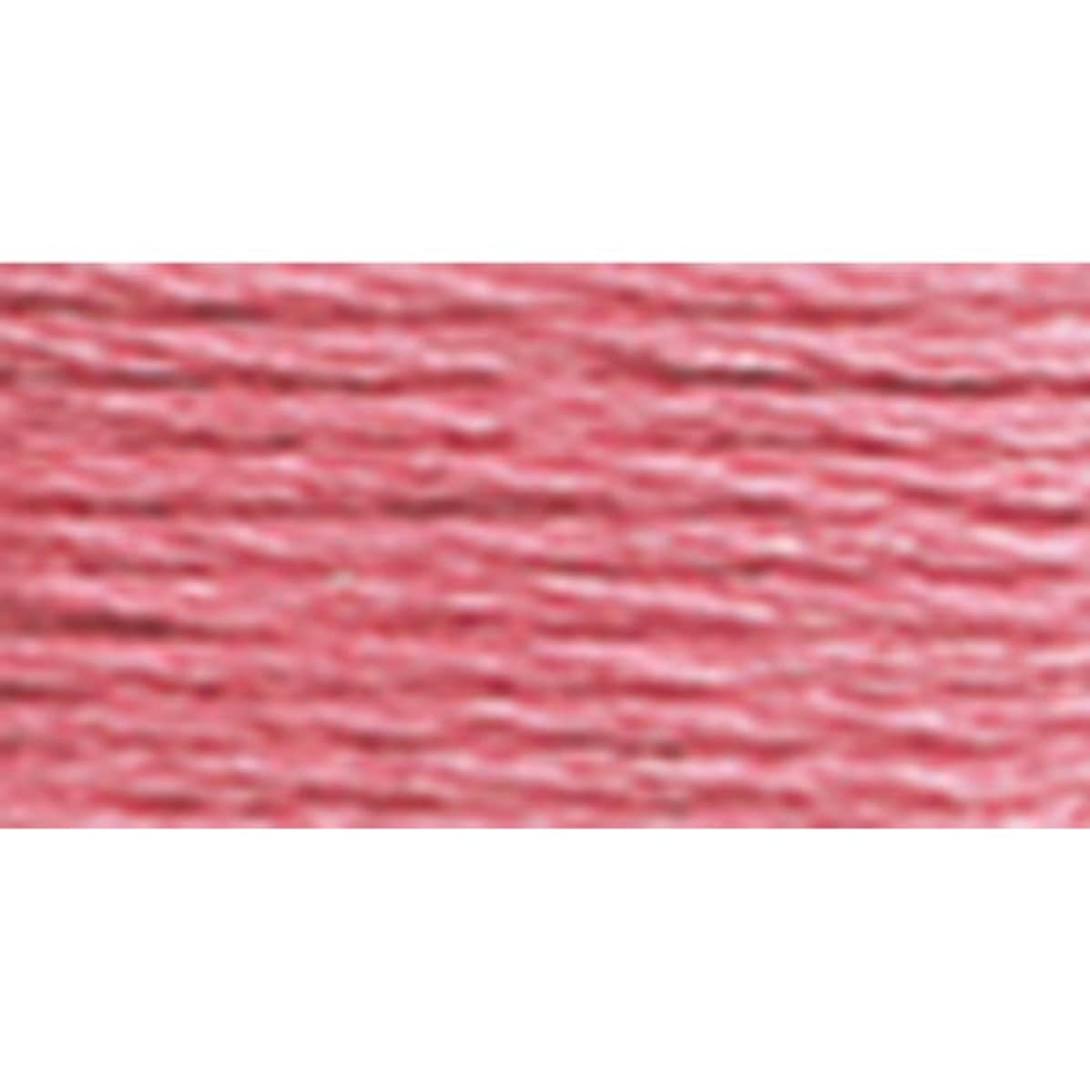 DMC 117-962 6 Strand Embroidery Cotton Floss, Medium Dusty Rose, 8.7-Yard
