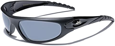 X Loop Men s Sport Wrap Around Sunglasses product image