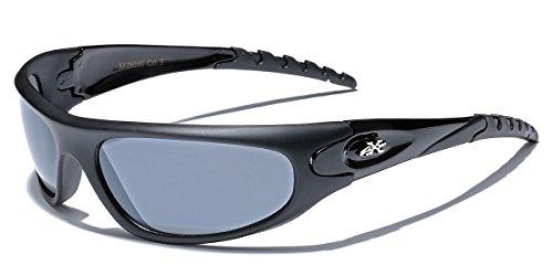 X-Loop Men's Sport Wrap Around Sunglasses