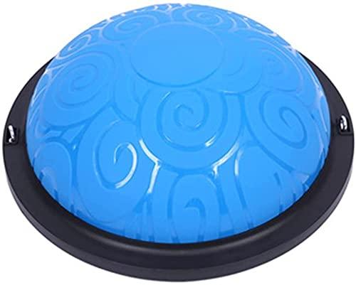 Fuerza Bola del Ejercicio Blance Trainer Aire Cúpula de la Bola de la Bomba Balance Board para la Fuerza y el Entrenamiento del Equilibrio 58cm (Color: Púrpura Tamaño: 46cm)-46cm_Azul