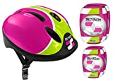 STAMP ROSE COMBO CASQUE + COUDIERES GENOUILLERES SKIDS CONTROL, K670507