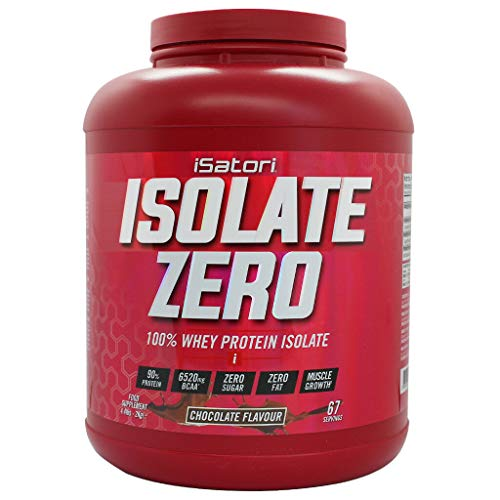 iSatori Isolate Zero 2 Kg. Vanilla, 100% Whey Protein Isolate