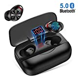 Auricolari Bluetooth 5.0, Orit Cuffie Bluetooth Senza Fili 3000mAh 126H Playtime CVC 8.0 Cuffie Wireless...