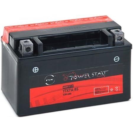 Nx Motorrad Batterie Ytx7a Bs 12v 6ah Auto