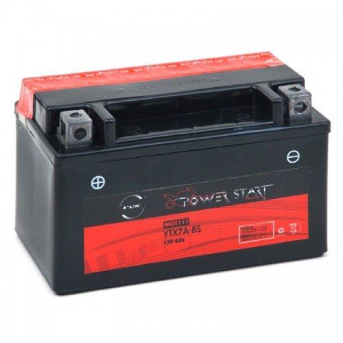 NX - Batterie moto YTX7A-BS / GTX7A-BS 12V 6Ah - Batterie(s)