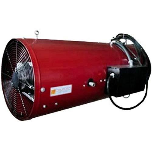 Calefactores Electrico Invernadero, DirectFire, MXDFE-001, 150000BTUs, 2550m3/Hr, 1500PCM,115V/1F/60Hz,1.8A,1/15HP, Gas Natural/Propano.