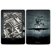 Kindle(2014年発売) スキンシール【Flying Tree Black】
