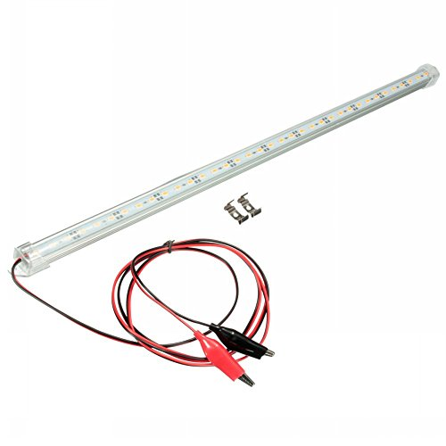 mfpower 12V 30cm barra de luces LED 5630SMD barra de luz interior van coche caravana Fish Tank